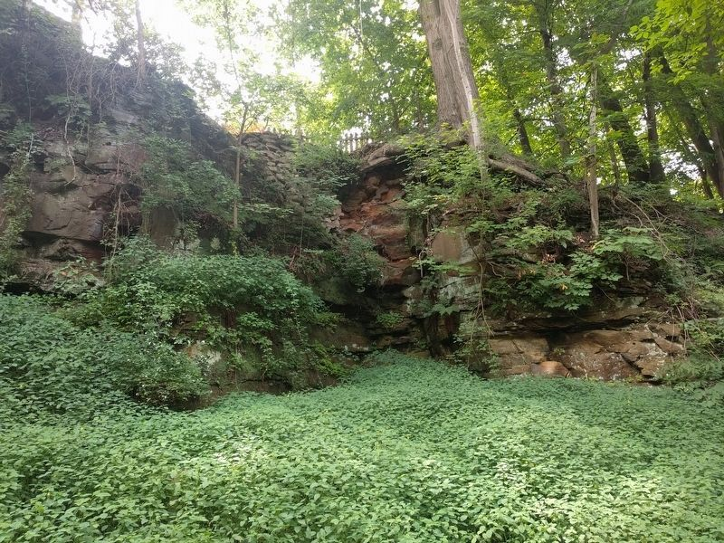 Example of the Ledges Along the Grand River image. Click for full size.