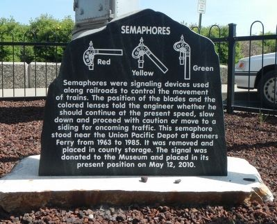 Semaphores Marker image. Click for full size.