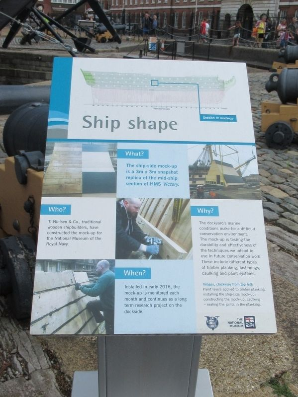 Ship shape Marker image. Click for full size.