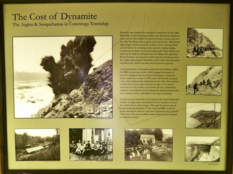 The Cost of Dynamite Marker image. Click for full size.