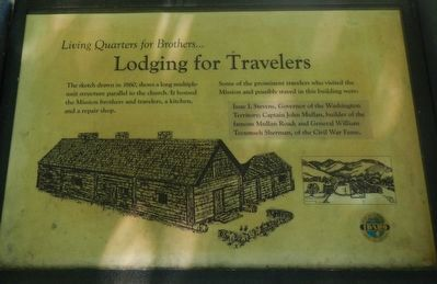 Lodging for Travelers Marker image. Click for full size.