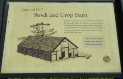 Stock and Crop Barn Marker image. Click for full size.