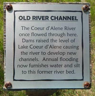 Old River Channel Marker image. Click for full size.