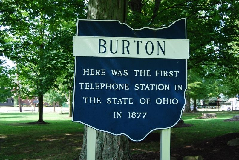 Burton Marker image. Click for full size.