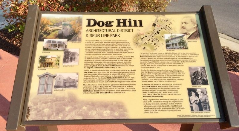 Dog Hill Marker image. Click for full size.