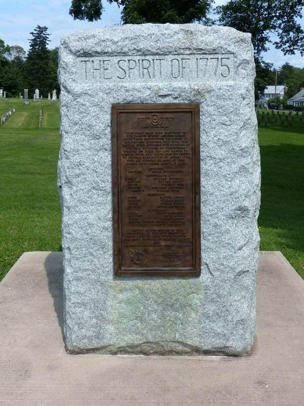 Spirit of 1775 Monument<br>in Elmwood Cemetery image. Click for full size.