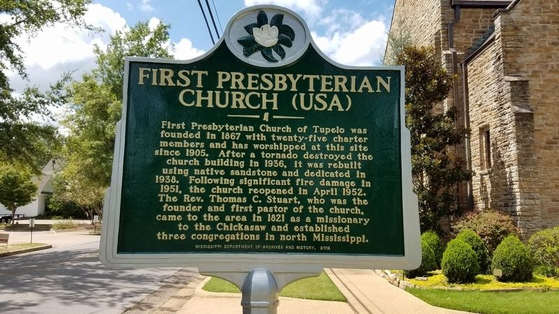 First Presbyterian Church (USA) Marker image. Click for full size.