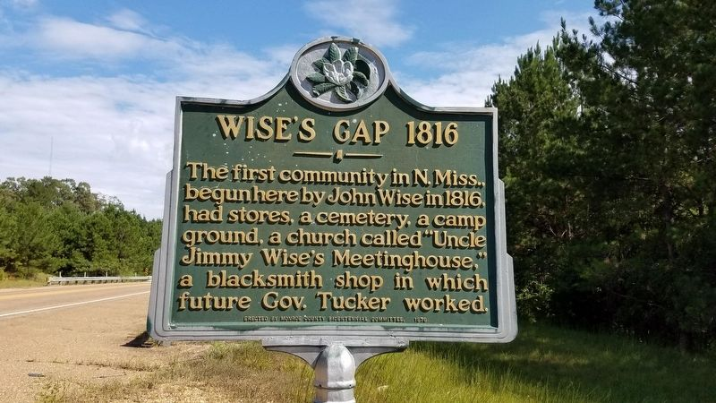 Wise's Gap 1816 Marker image. Click for full size.