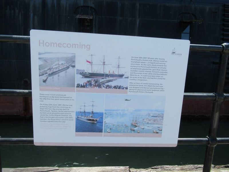 Homecoming Marker image. Click for full size.
