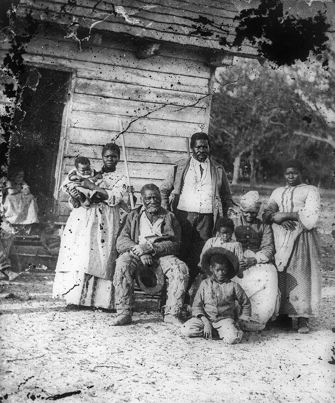 Five Generations of an African American Family, 1862 image. Click for full size.