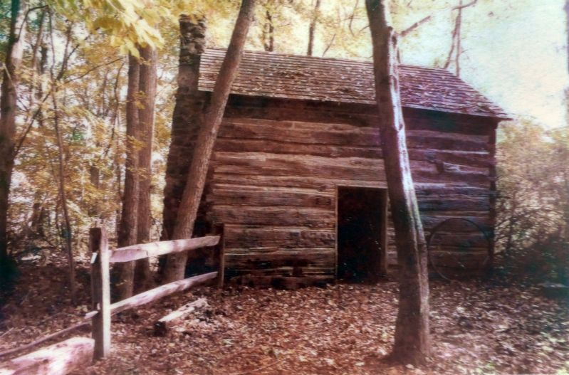 A Maryland Slave Cabin image. Click for full size.