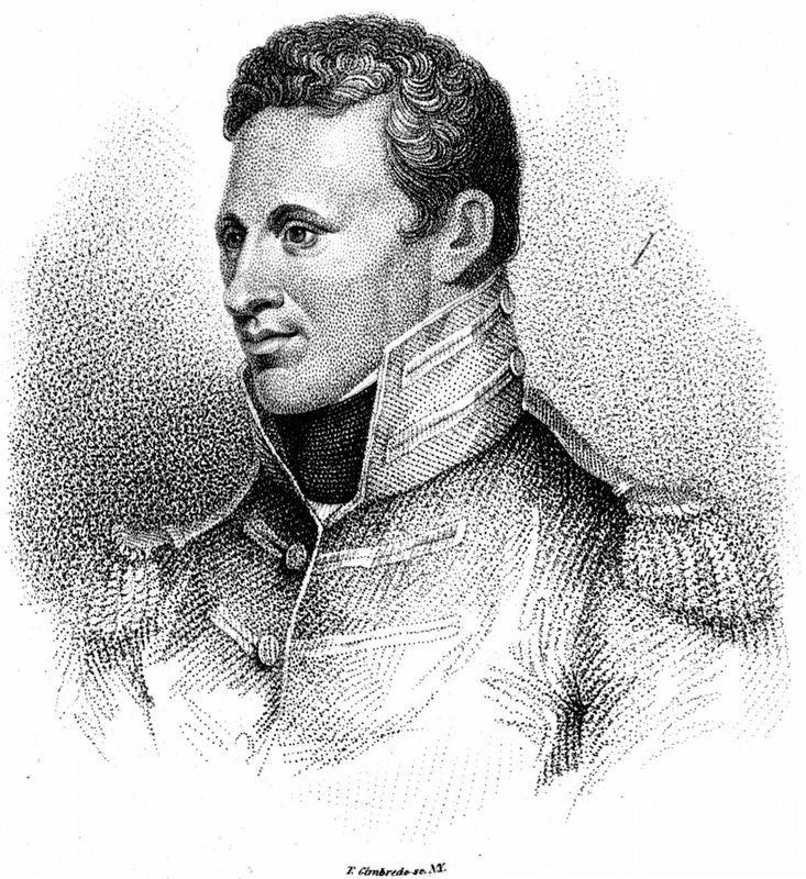 General Pike<br>as he appeared during the War of 1812 image. Click for full size.