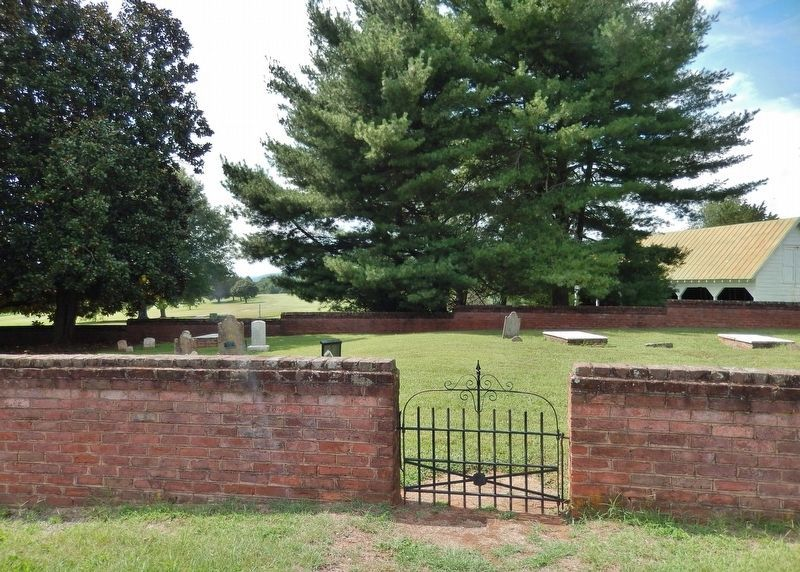 Winton Cemetery (<i>site of Grave of Patrick Henry's Mother</i>) image. Click for full size.