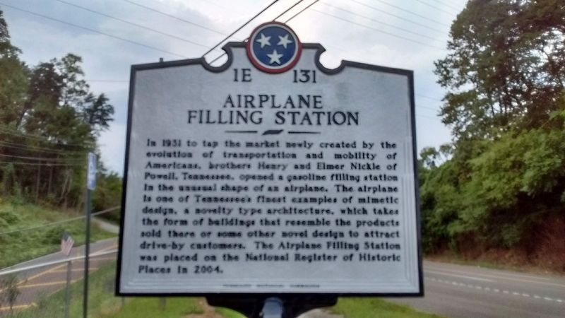 Airplane Filling Station Marker image. Click for full size.