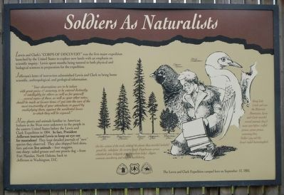 Soldiers as Naturalists Marker image. Click for full size.