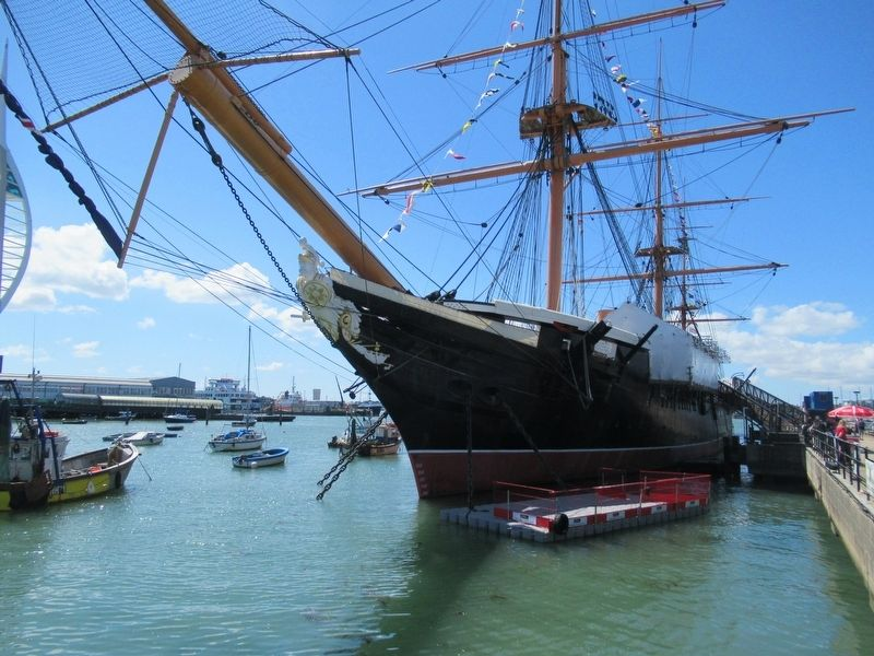 HMS Warrior image. Click for full size.