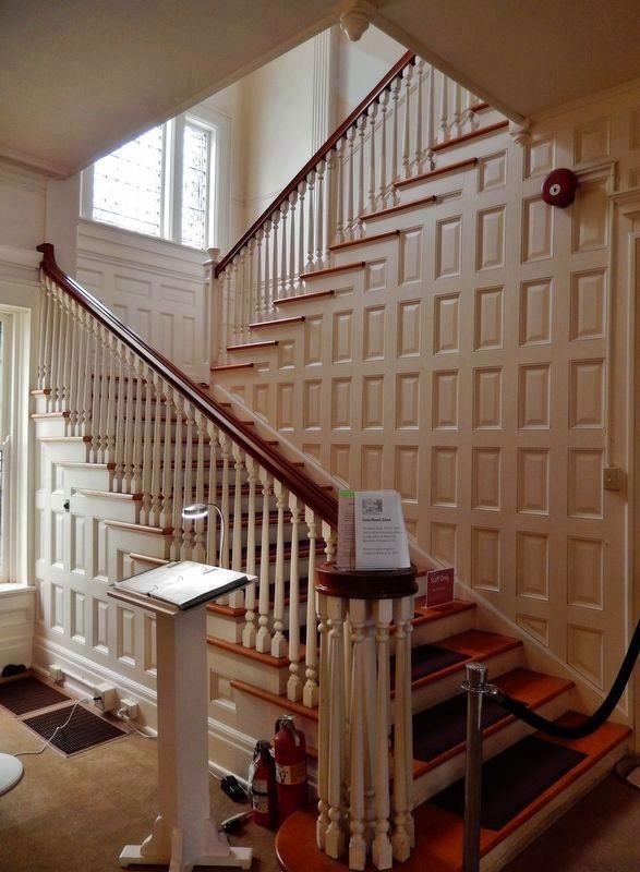 Central Staircase (<i>located inside Flat Top Manor on main floor, beyond entrance</i>) image. Click for full size.