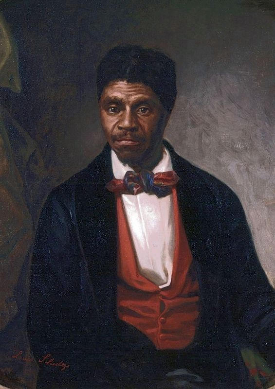 Dred Scott<br>By Louis Schultze<br>1888 image. Click for full size.