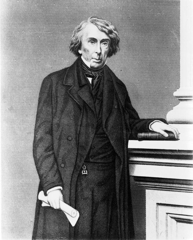 Chief Justice Roger Brooke Taney, 1777-1864 image. Click for full size.