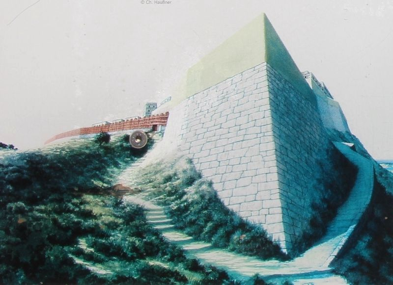 The Northern Bastion Marker image. Click for full size.