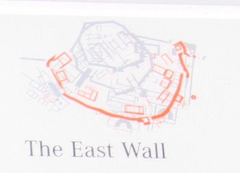 The East Wall Marker image. Click for full size.
