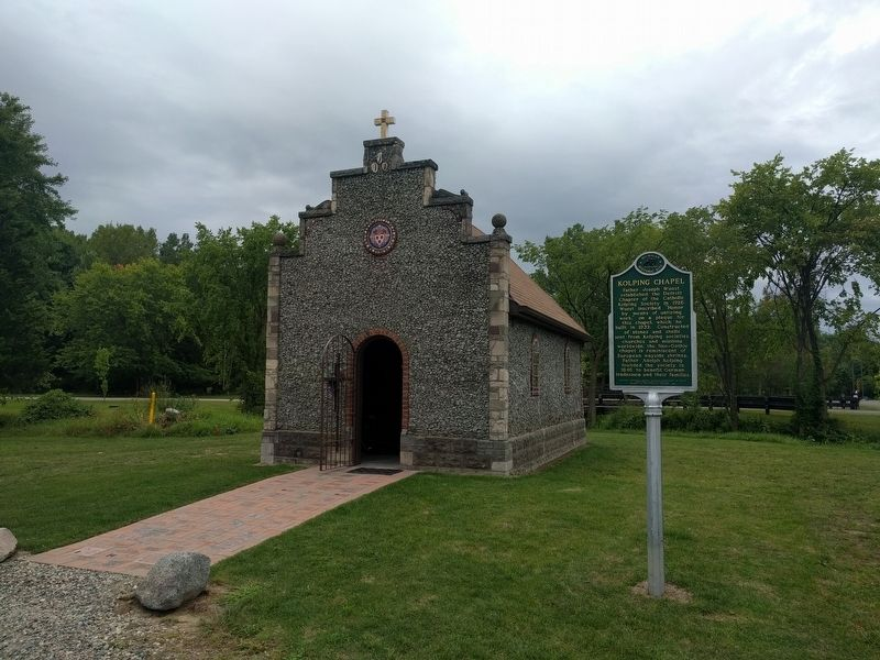 Kolping Chapel and Marker image. Click for full size.