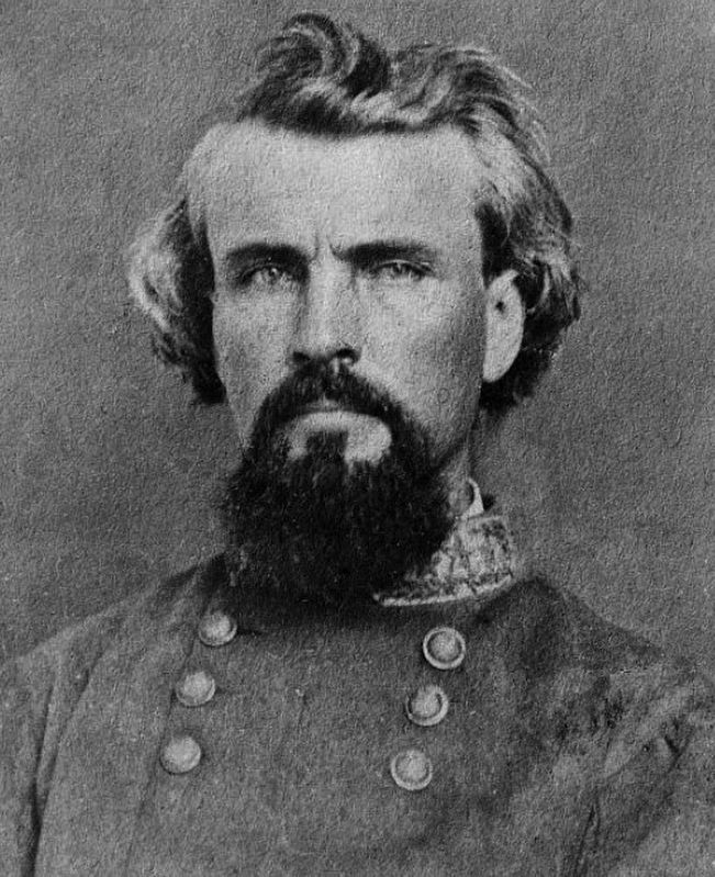 Nathan Bedford Forrest (July 13, 1821 – October 29, 1877) image. Click for full size.