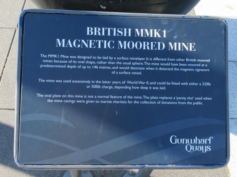 British MMK1 Mine Marker image. Click for full size.