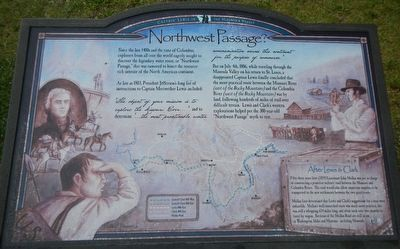 Northwest Passage Marker image. Click for full size.