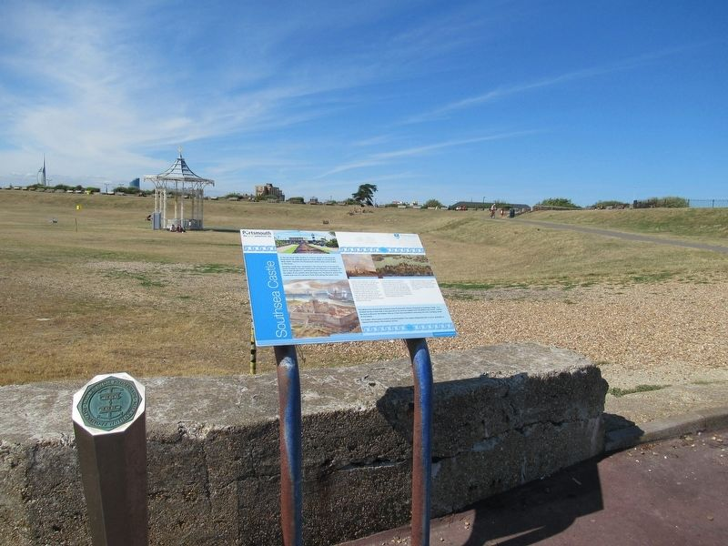 Southsea Castle Marker image. Click for full size.