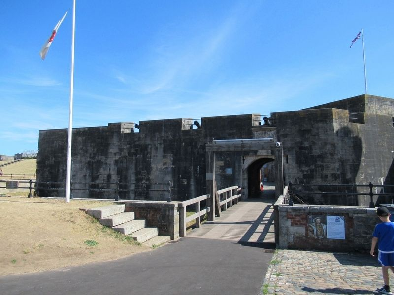 Southsea Castle image. Click for full size.