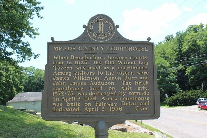 Meade County Courthouse Marker image. Click for full size.
