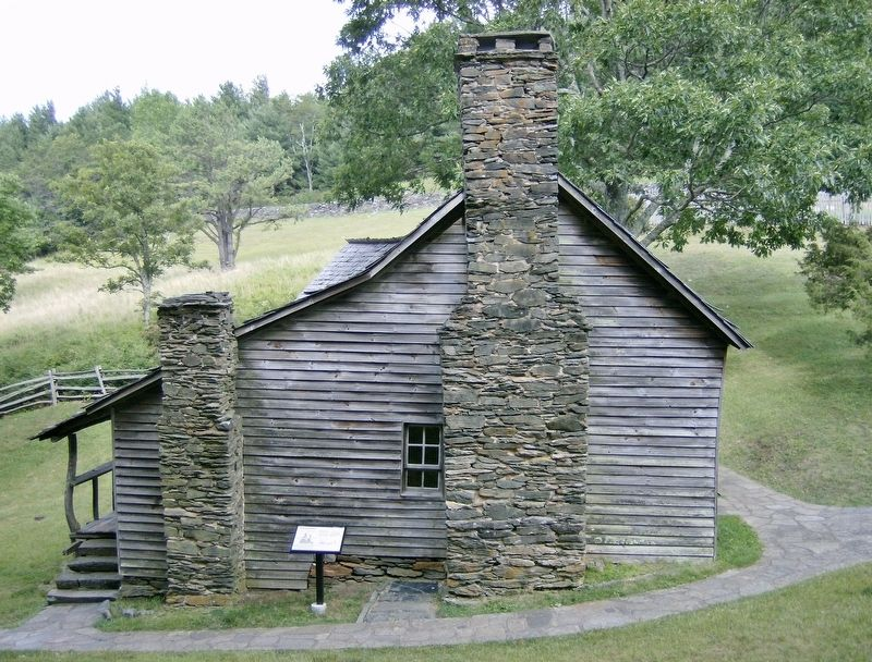 Brinegar Cabin (<i>side view</i>) image. Click for full size.