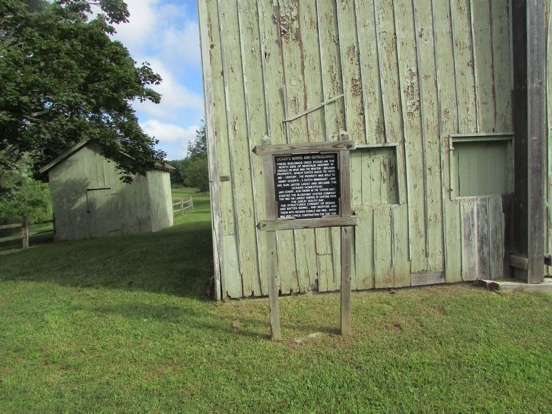 Ocker's Barns and Outbuildings Marker image. Click for full size.