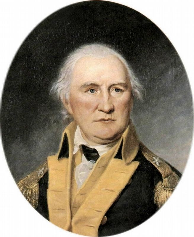 Daniel Morgan (July 6, 1736 – July 6, 1802) image. Click for full size.