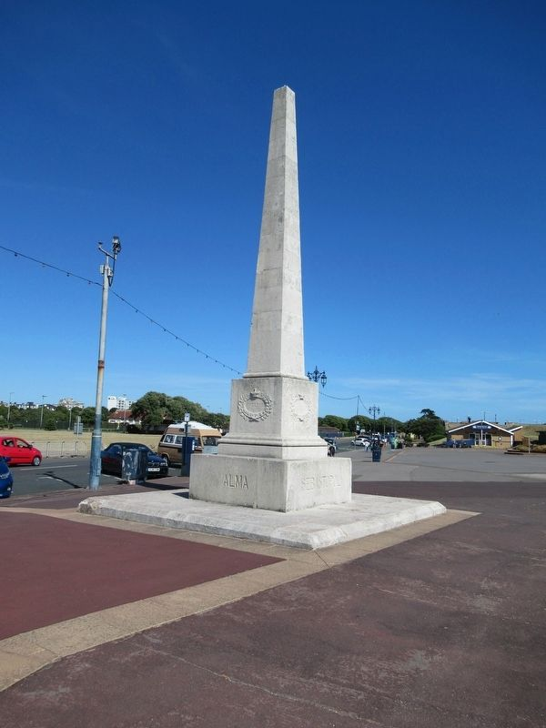 Portsmouth Crimean War Memorial image. Click for full size.