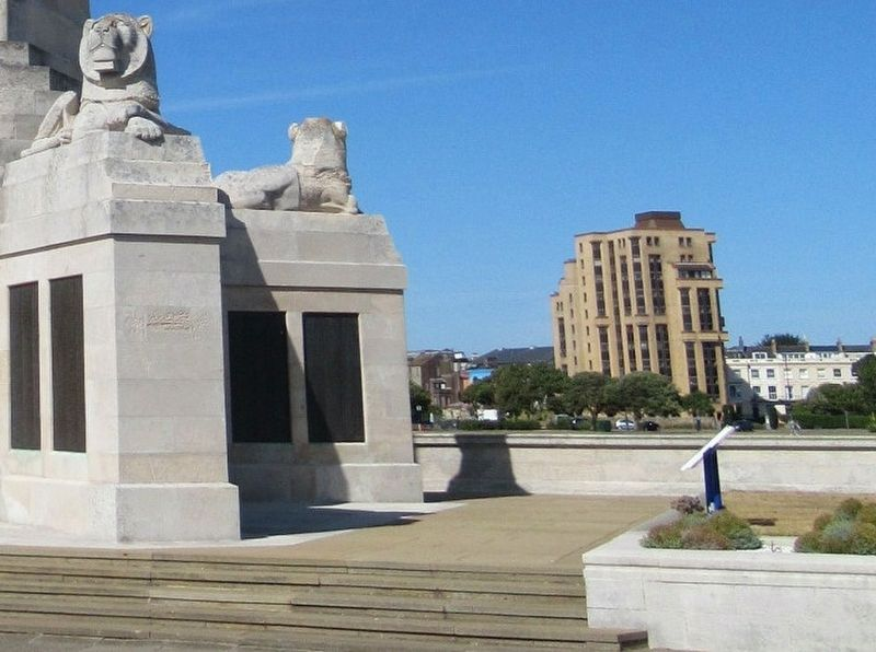 Portsmouth Naval Memorial image. Click for full size.