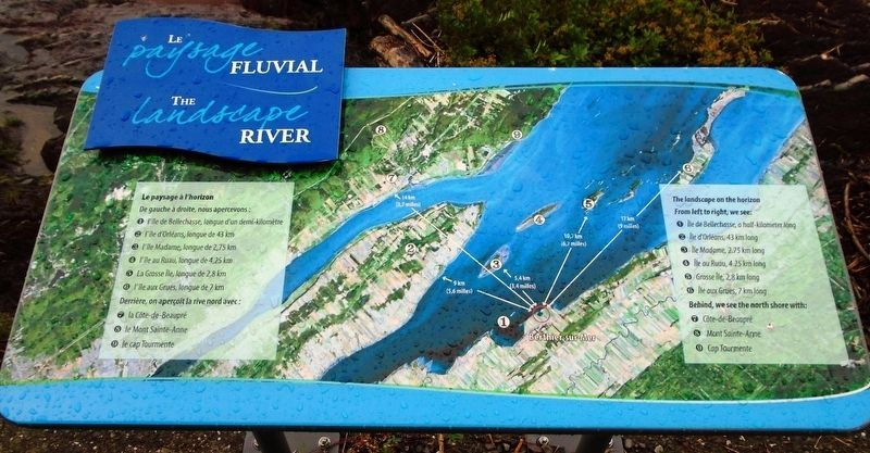 Le paysage fluvial/The River Landscape Marker image. Click for full size.