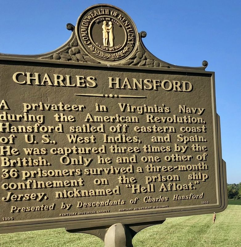 Charles Hansford Marker image. Click for full size.