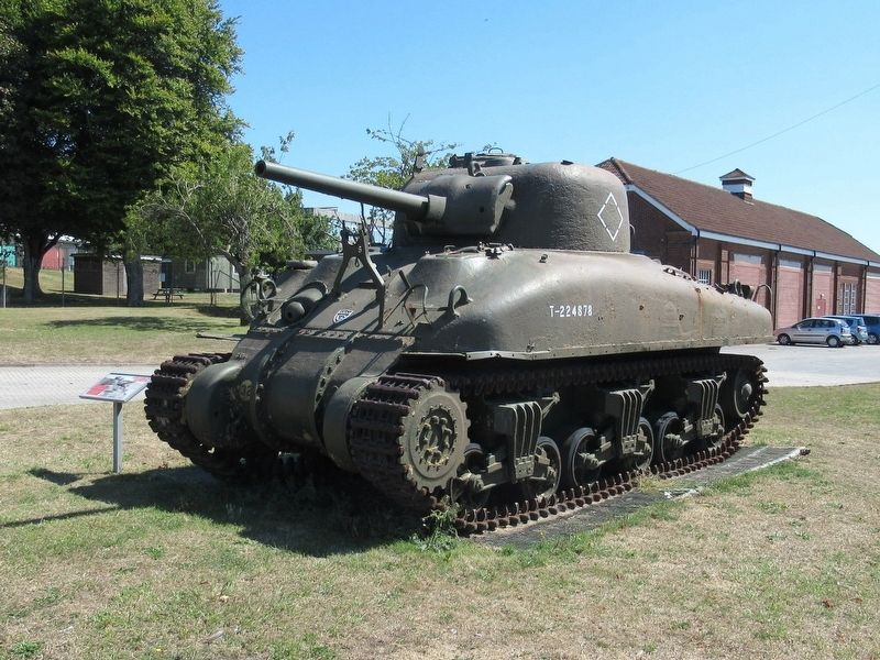 M4A1 Medium Tank Grizzly image. Click for full size.