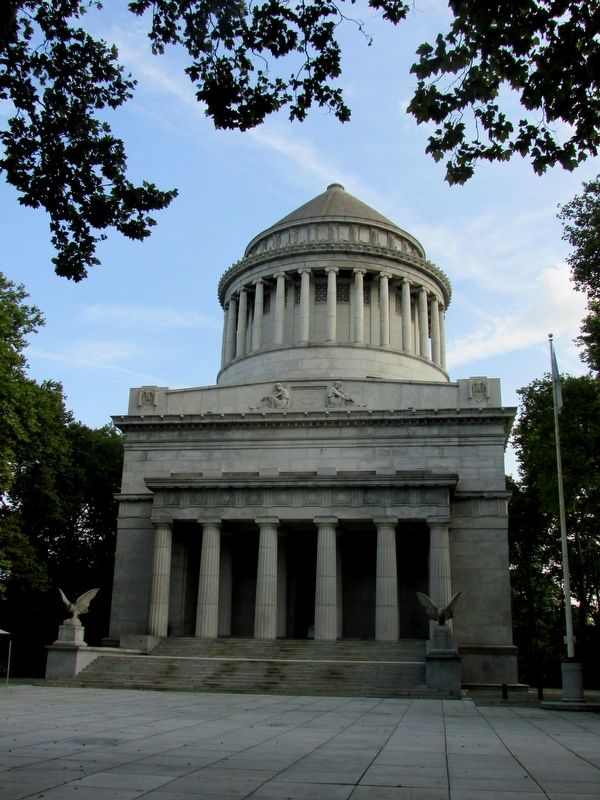 Grant's Tomb image. Click for full size.