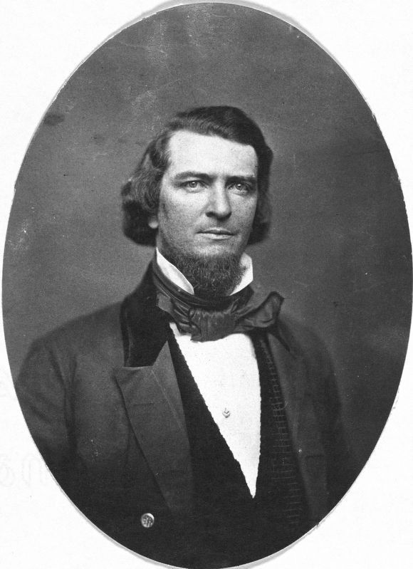 Preston Brooks, U.S. Congressman from South Carolina ca. 1856. image. Click for full size.