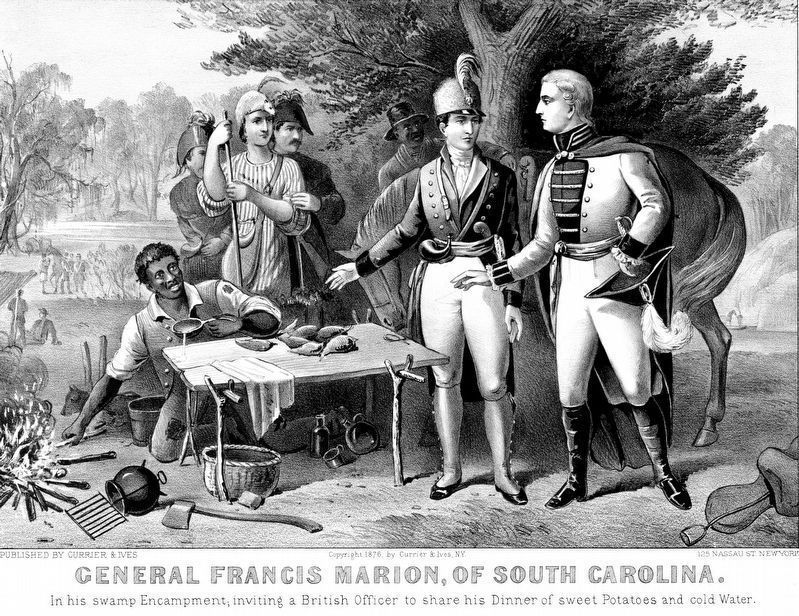 General Francis Marion, of South Carolina image. Click for full size.