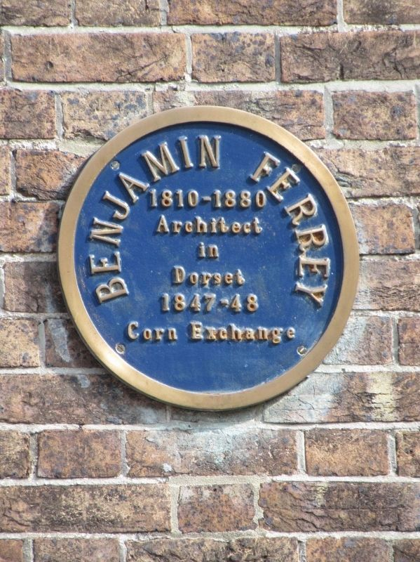 Benjamin Ferrey Architect Marker image. Click for full size.
