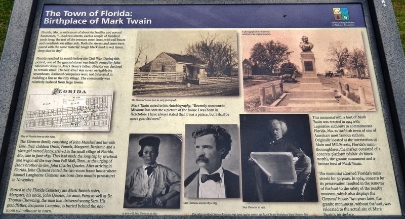 The Town of Florida Marker image. Click for full size.