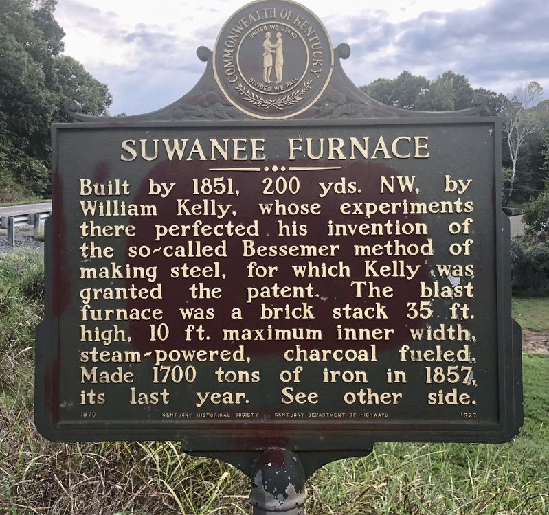 Suwanee Furnace Marker image. Click for full size.