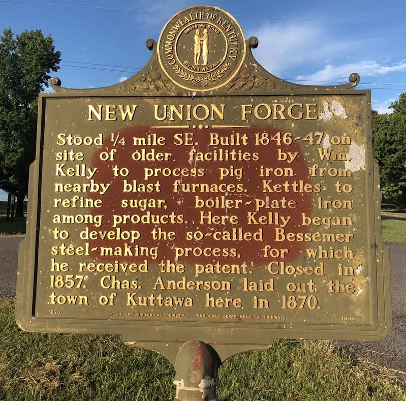 New Union Forge Marker image. Click for full size.