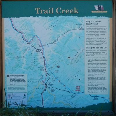 Trail Creek panel image. Click for full size.