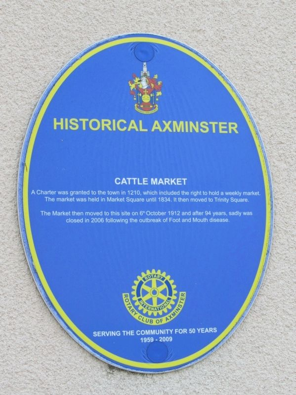 Cattle Market Marker image. Click for full size.