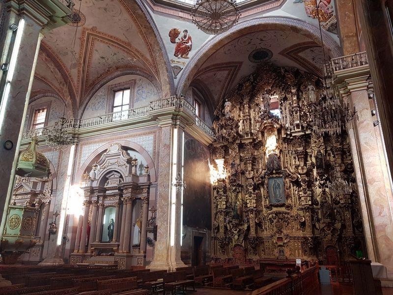 An additional interior view of the Parish of Nuestro Señora de los Dolores image. Click for full size.